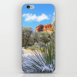 Sedona Winter  by Reay of Light iPhone Skin