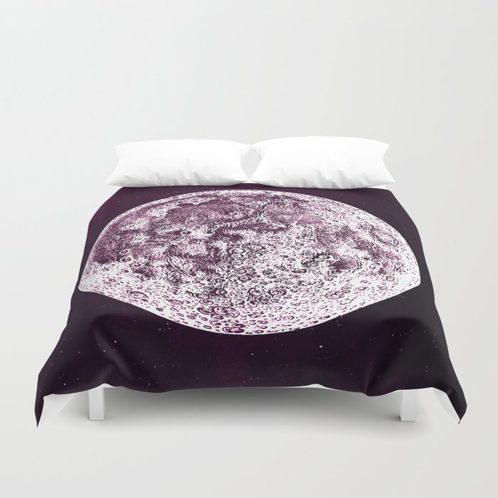 An Expired Planet Duvet Cover
