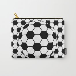 Black and White 3D Ball pattern deign Carry-All Pouch