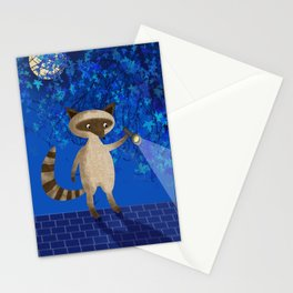 Rocky Raccoon Stationery Cards