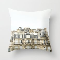to live by the river Throw Pillow