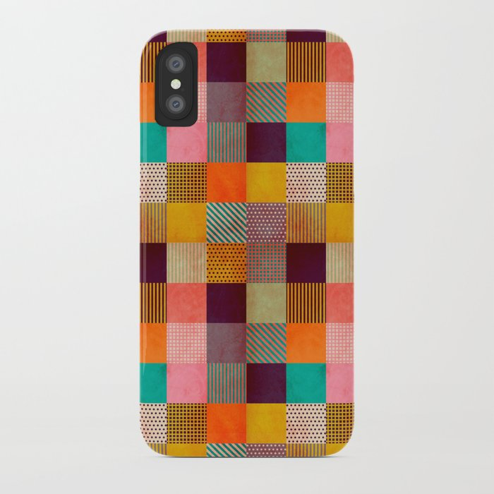 Decorated Pixel   iPhone Case