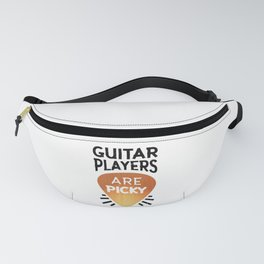Guitar Players Are Picky Great Gift Idea Fanny Pack