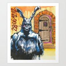 Frank and the Cellar Door Art Print