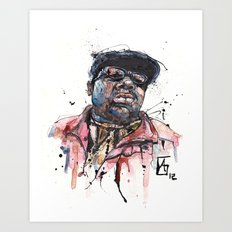 The Notorious B.I.G. aka Biggie aka Frank White Art Print