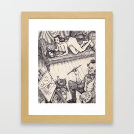 Painter Framed Art Print