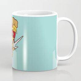 Red Ninja Pizza Coffee Mug