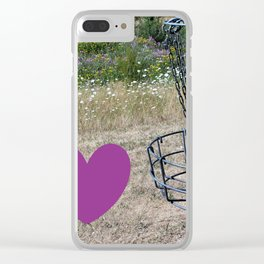 I Heart Those Chains Clear iPhone Case