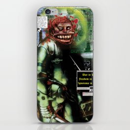 Great Loa of Surveillance iPhone Skin