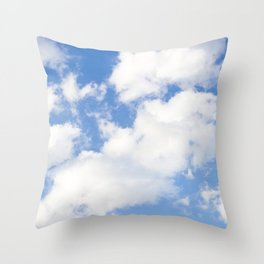 Clouds (Nothing Was The Same) Throw Pillow