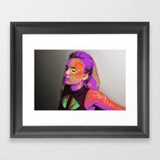 digital cicatrization   3 Framed Art Print