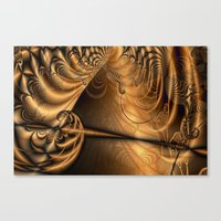 theatre Canvas Prints featuring Theatre by Maria Forrester
