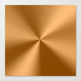Copper Tones Stainless Steel Print Canvas Print