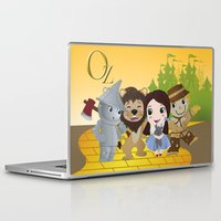 oz Laptop & iPad Skins featuring Oz by 7pk2 online