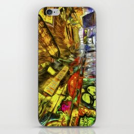London Graffiti Van Gogh iPhone Skin