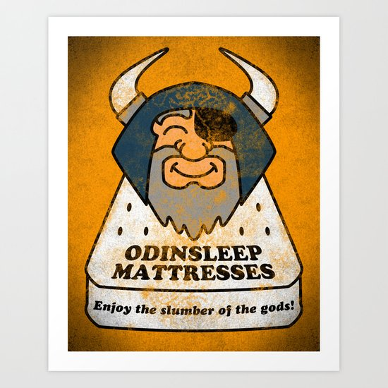 Odin - Odinsleep Mattresses Art Print