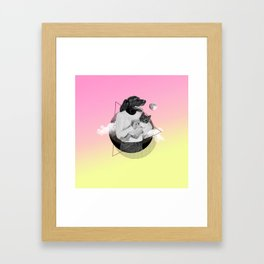 Safira Framed Art Print