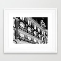 madrid Framed Art Prints featuring Madrid by Kellabell9