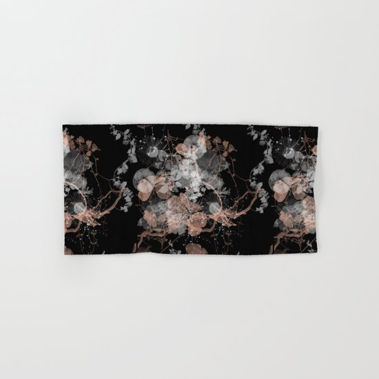 Black Spring II Hand & Bath Towel