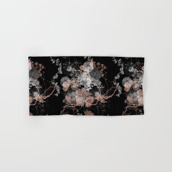 Black Spring II Hand & Bath Towel