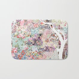 Arlington map Virginia Bath Mat