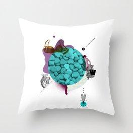 Mental Note #2 Throw Pillow