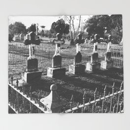 Cemetery Throw Blanket