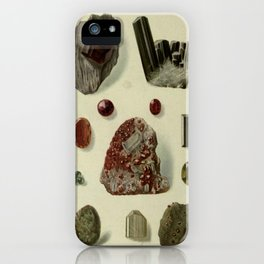 Garnet Minerals iPhone Case