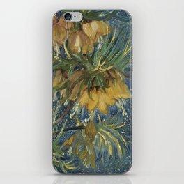 Crown Imperials in a Copper Vase iPhone Skin