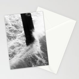 Churning Surf Amongst The Pier Stationery Cards