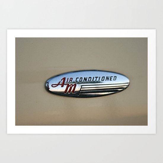 Air Conditioned Art Print