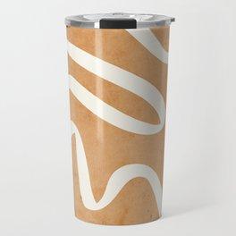abstract minimal 31 Travel Mug