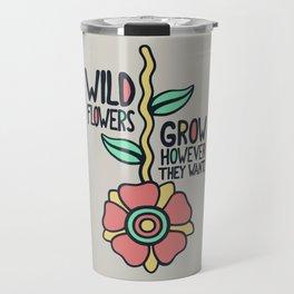 W/LDFLOWER Travel Mug
