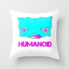 humanoid - 003 var.2 Throw Pillow