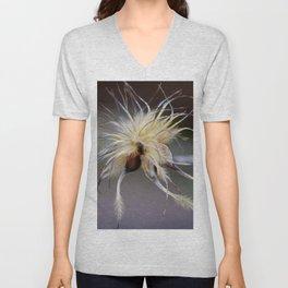 Fleecy Seeds Unisex V-Neck