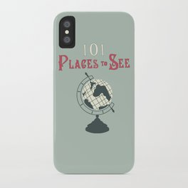 101 Places to See iPhone Case