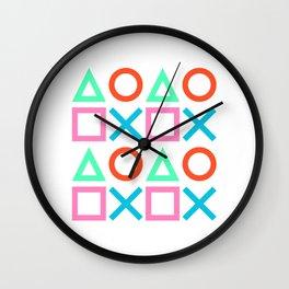 Play Pattern 2 Wall Clock