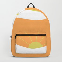 """ Orange days "" Backpack"