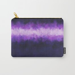 Dark Blue Grape Abstract Carry-All Pouch