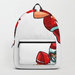 Santa football Backpack