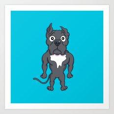 Bluie Art Print