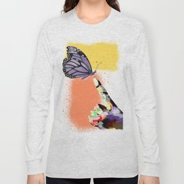 Come here sweet butterfly Long Sleeve T-shirt