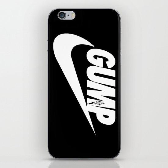 Gump- JustDoIt iPhone & iPod Skin