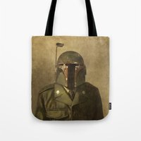 general Tote Bags featuring General Fettson   by Terry Fan