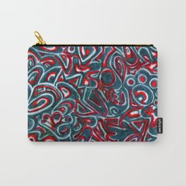 Jack Teal/Red Carry-All Pouch