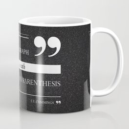 Parenthesis Coffee Mug