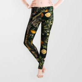 Vintage Fruit Pattern XXII Leggings