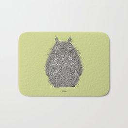 Avocado Totoro Bath Mat