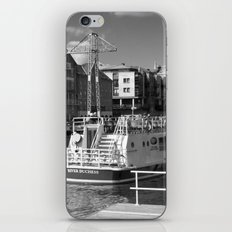Pleasure boats on the York river Ouse. iPhone & iPod Skin