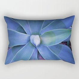 blue star Rectangular Pillow